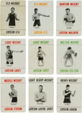 """Boxing Cards:General, 1923 Olympia Games, Ltd. """"Boxing"""" Complete Set of Boxers (32). ..."""