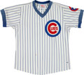 Baseball Collectibles:Uniforms, 1981 Mike Tyson Game Worn Chicago Cubs Jersey. ...