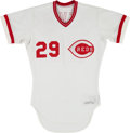 Baseball Collectibles:Uniforms, 1982 Alex Trevino Game Worn Cincinnati Reds Jersey. ...