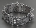 Silver Smalls:Other , A WILLIAM SPRATLING MEXICAN SILVER VINDOBONENSIS BRACELET,Taxco, Mexico, circa 1944. Marks: WS, SPRATLING, MA...