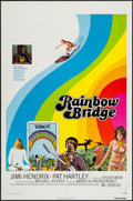 """Movie Posters:Rock and Roll, Rainbow Bridge & Other Lot (Transvue, 1972). One Sheets (2)(27"""" X 41"""") & Lobby Card Set of 4 (11"""" X 14""""). Rock and Roll..... (Total: 6 Items)"""