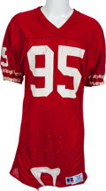 Football Collectibles:Uniforms, 1985-88 Michael Carter Game Worn San Francisco 49ers Jersey, MEARS A10....