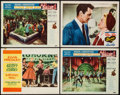 "Movie Posters:Elvis Presley, Loving You & Others Lot (Paramount, 1957). Lobby Cards (4) (11""X 14"") & One Sheets (2) (27"" X 41""). Elvis Presley.. ...(Total: 6 Items)"