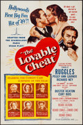 """Movie Posters:Comedy, The Lovable Cheat & Others Lot (Film Classics, Inc., 1949). OneSheets (2) (27"""" X 41"""") & Lobby Cards (4) (11"""" X 14""""). Comedy...(Total: 6 Items)"""