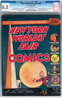 New York World's Fair Comics 1939 (DC, 1939) CGC FN+ 6.5 Light tan to off-white pages