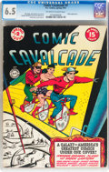 Golden Age (1938-1955):Superhero, Comic Cavalcade #2 (DC, 1943) CGC FN+ 6.5 Off-white to white pages....