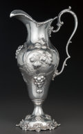 Silver Holloware, American:Pitchers, A BLACK STARR & FROST SILVER WATER PITCHER, New York, New York,circa 1880. Marks: STERLING, 1840B, 5 1/2 pts, BLACKSTARR...