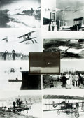 Books:Prints & Leaves, [Early Aviation]. Group of Twenty-One Reprint Photographs depictingEarly Aircraft. Items published in or used as research m...