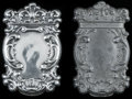 Silver Smalls:Match Safes, AN AMERICAN SILVER MATCH SAFE AND MOLD, circa 1890. Marks:STERLING 925. 2-3/4 inches high (7.0 cm). 1.05 troy ounces.... (Total: 2 )