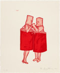 Prints:Contemporary, IDA APPLEBROOG (American, b. 1929). Potatoe, 1992.Lithograph in colors. 22-1/4 x 18-1/4 inches (56.5 x 46.4 cm). Ed.P....