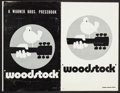"""Movie Posters:Rock and Roll, Woodstock (Warner Brothers, 1970). Pressbook (20 Pages, 11"""" X 17""""),Insert (12"""" X 15""""), & Herald (11.75"""" X 15"""") . Rock and R...(Total: 3 Items)"""