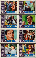 """Movie Posters:Science Fiction, X - The Man with the X-Ray Eyes (American International, 1963).Lobby Card Set of 8 (11"""" X 14""""). Science Fiction.. ... (Total: 8Items)"""