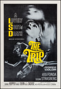 "Movie Posters:Exploitation, The Trip (American International, 1967). One Sheet (27.5"" X40.75""). Exploitation.. ..."
