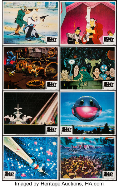 Heavy Metal Columbia 1981 Lobby Card Set Of 8 11 X 14 Lot 54153 Heritage Auctions