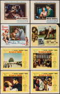 "Movie Posters:Adventure, 55 Days at Peking & Others Lot (Allied Artists, 1963). LobbyCards (10) & Deluxe Lobby Cards (6) (11"" X 14""). Adventure..... (Total: 16 Items)"