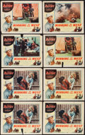 """Movie Posters:Western, Winning of the West & Other Lot (Columbia, 1953). Lobby Cards (12) (11"""" X 14""""). Western.. ... (Total: 12 Items)"""