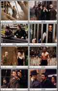 """Movie Posters:Mystery, Sherlock Holmes (Warner Brothers, 2009). International Lobby Card Set of 8 (11"""" X 14""""). Mystery.. ... (Total: 8 Items)"""