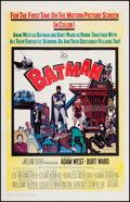 """Movie Posters:Action, Batman (20th Century Fox, 1966). One Sheet (26.75"""" X 41.75""""). Action.. ..."""