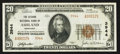 National Bank Notes:Kentucky, Ashland, KY - $20 1929 Ty. 2 The Second NB Ch. # 3944. ...