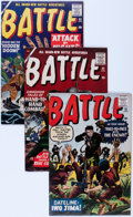 Golden Age (1938-1955):War, Battle Group (Marvel, 1952-60) Condition: Average FN/VF.... (Total: 7 Comic Books)