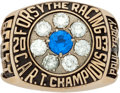 Miscellaneous Collectibles:General, 2003 Forsythe Racing C.A.R.T. Championship Ring....