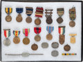 Military & Patriotic:WWII, Fantastic Medal and Shooting Award Group to Chief Gunners Mate Earl Dean Fleming (1890-1949), U.S. Navy, Circa 1907-1945....