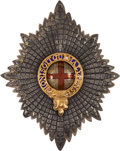 Military & Patriotic:Foreign Wars, Notable Order of the Garter Star....