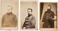 Photography:CDVs, Three Union General Cartes de Visite: Richard Ogelsby, Samuel Beatty, and William Belknap.... (Total: 3 )