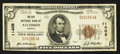 National Bank Notes:Kansas, Atchison, KS - $5 1929 Ty. 1 The City NB Ch. # 11405. ...