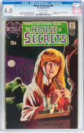 Bronze Age (1970-1979):Horror, House of Secrets #92 (DC, 1971) CGC FN 6.0 Off-white pages....