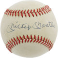 Autographs:Baseballs, Mickey Mantle & Roger Maris Signed Baseball. After Ruth andGehrig, there's no more memorable duo in the pinstriped fold th...