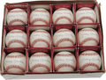 Autographs:Baseballs, Mickey Mantle Single Signed Baseballs Lot of 12. Dealers andcollectors alike would be well advised to take notice of this ...(Total: 12 )