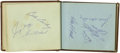 Autographs:Others, 1966-67 Baseball Autograph Books Lot of 2 with Clemente, Maris.Over four hundred 9/10 and better ink signatures were compi...(Total: 2 Items)