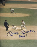 Autographs:Photos, Mickey Mantle Signed Photographs Lot of 2. Here are two images we don't believe we've seen before, and one inscription we k...