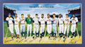 Autographs:Others, 500 Home Run Club Signed Poster by Ron Lewis. Celebrated sports artist Ron Lewis works his magic and brings the greatest sl...