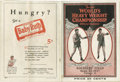 """Boxing Collectibles:Memorabilia, 1927 Dempsey vs. Tunney """"Long Count Fight"""" Program. While stubs from this monumental event in sports history are fairly rea..."""