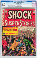 Golden Age (1938-1955):Horror, Shock SuspenStories #2 (EC, 1952) CGC FN 6.0 Off-white to whitepages....