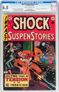 Golden Age (1938-1955):Horror, Shock SuspenStories #14 (EC, 1954) CGC FN+ 6.5 Off-white to whitepages....