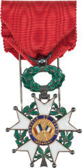 Military & Patriotic:Foreign Wars, French Order of the Legion of Honor Knight in Case....