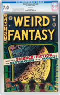 Golden Age (1938-1955):Science Fiction, Weird Fantasy #15 (#3) (EC, 1950) CGC FN/VF 7.0 White pages....