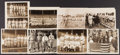 Baseball Collectibles:Photos, Early 1920's New York Giants Type I Photographs from Irish MeuselCollection Lot of 8....