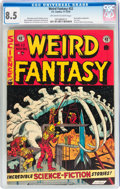 Golden Age (1938-1955):Science Fiction, Weird Fantasy #22 (EC, 1953) CGC VF+ 8.5 Off-white to whitepages....