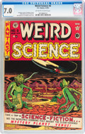 Golden Age (1938-1955):Science Fiction, Weird Science #6 (EC, 1951) CGC FN/VF 7.0 Off-white to white pages....