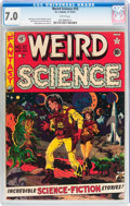 Golden Age (1938-1955):Science Fiction, Weird Science #10 (EC, 1951) CGC FN/VF 7.0 White pages....