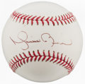 Autographs:Bats, Mariano Rivera Single Signed Baseball....