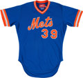 Baseball Collectibles:Uniforms, 1983 Doug Sisk Game Worn New York Mets Jersey. ...