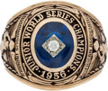 Baseball Collectibles:Others, 1956 Indianapolis Indians Junior World Series Championship RingPresented to Bud Daley....