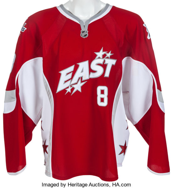 low priced 0edcd 4a767 2008 Alexander Ovechkin Game Worn, Signed Eastern Conference ...