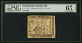 Colonial Notes:Pennsylvania, Pennsylvania October 25, 1775 9d PMG Gem Uncirculated 65 EPQ.. ...