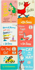 Books:Children's Books, Dr. Seuss. Group of Six Book Club Editions. Random House, [variousdates, ca. 1960s]. Octavos. Publisher's bindings. Some ed...(Total: 6 Items)